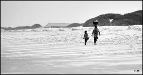 Sur la plage de Macaneta