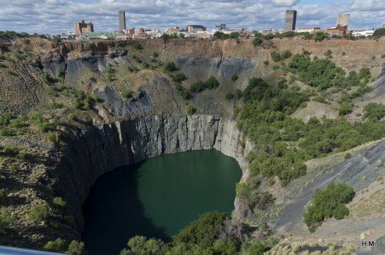 Big Hole à Kimberley