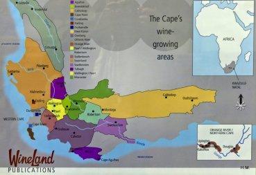 Les vins de Cape Town