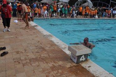 Sylvain, le prof d'Esteban et vainqueur de la natation sénior
