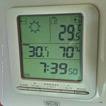 C'est pas pour me vanter, mais il va faire faire chaud...