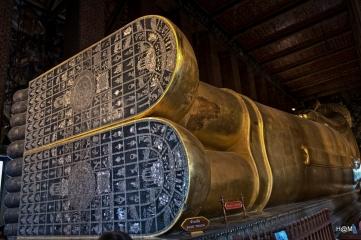 Bouddha couché du Wat Ph