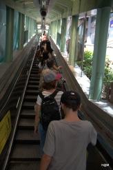 Le plus long escalator...