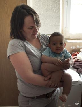 Timothée et sa maman