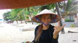 La masseuse de la plage