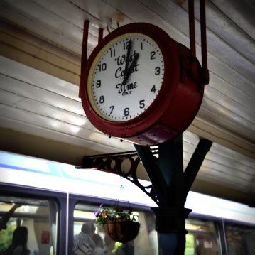 La gare de Greymouth