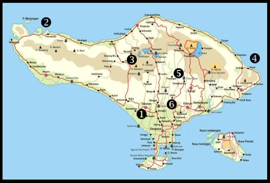 Carte Bali 2
