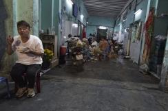 Pas d'heure pour manger au Vietnam, ni d'endroit...