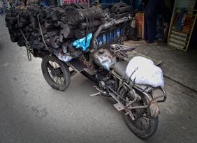 Le tricycle du charbonnier